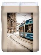 Munich City Traffic Duvet Cover