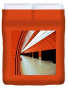 Munich Subway I Duvet Cover by Hannes Cmarits