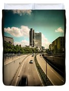 Munich Traffic Duvet Cover