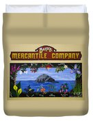Mural Bandon Mercantile Company Duvet Cover