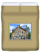 Mural In Beaupre Quebec Duvet Cover