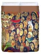 Mural Street Art Ecuador 2 Duvet Cover