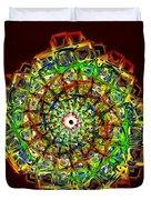 Murano Glass - Red Duvet Cover