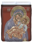Murom Icon Of The Mother Of God 230 Duvet Cover