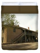 Murphy Store Lincoln City New Mexico   Duvet Cover by Jeff Swan