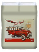 Murray Fire Truck Duvet Cover
