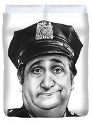 Murray The Cop Duvet Cover
