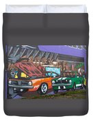 Muscle Cars Duvet Cover