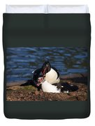 Muscovy Love Duvet Cover
