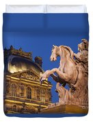 Musee Du Louvre Duvet Cover