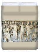 Muses And Poets Duvet Cover