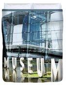Museum Reflection Duvet Cover