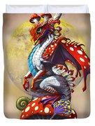 Mushroom Dragon Duvet Cover