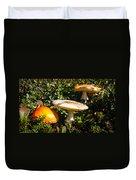 Mushroom Tops Duvet Cover