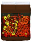 Music 1 Duvet Cover