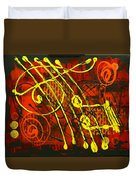 Music 3 Duvet Cover