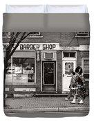 Music - Bag Piper - Somerville Nj -  The Scottsman Duvet Cover