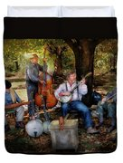 Music Band - The Bands Back Together Again  Duvet Cover