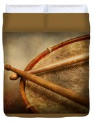 Music - Drum - Cadence  Duvet Cover