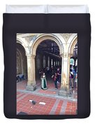 Music Echoes Under The Arches Duvet Cover