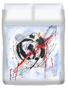 Musical Abstract 002 Duvet Cover