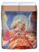 Musical Angel With Violin Duvet Cover