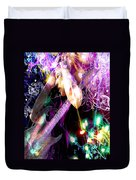 Musical Lights Duvet Cover