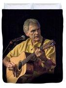 Musician And Songwriter Verlon Thompson Duvet Cover