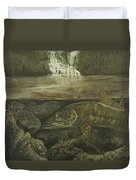 Muskellunge Duvet Cover