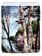 Muskoka Reflections Duvet Cover