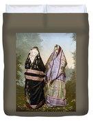 Muslim Women, C1895 Duvet Cover