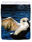 Mute Swan Majesty Duvet Cover