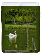 Mute Swan Pictures 195 Duvet Cover