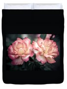 Muted Pink Roses Duvet Cover