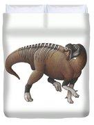 Muttaburrasaurus Dinosaur Duvet Cover