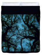 My Blue Dark Forest Duvet Cover