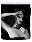 My Darkest Midnight - Self Portrait Duvet Cover