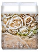 My Daughter's Bouquet By Diana Sainz Duvet Cover