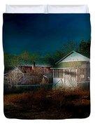 My Dream House Duvet Cover by Gunter Nezhoda