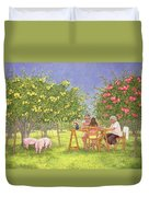 My Family And Other Animals Duvet Cover