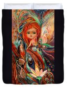 My Fiery Fairy Gwendolyn Duvet Cover