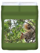 My First American Squirrel Duvet Cover