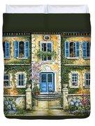 My French Villa Duvet Cover