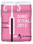 My Giro D' Italia Minimal Poster Duvet Cover