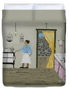 Coal Miners Wife Duvet Cover