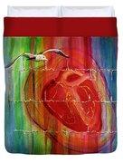 My Hearts  Echo Duvet Cover