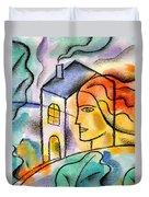 My House Duvet Cover