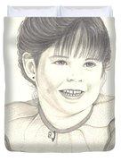 My Little Girl Duvet Cover