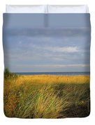 My Love Awaits Me By The Sea Duvet Cover
