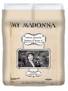My Madonna Duvet Cover